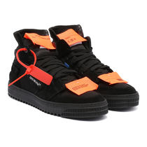 【関税負担】 OFF WHITE HIGH-TOP SNEAKERS