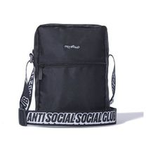 【国内即発】AntiSocialSocialClub Black Side Bag ショルダー
