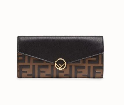【FENDI】CONTINENTAL leather wallet