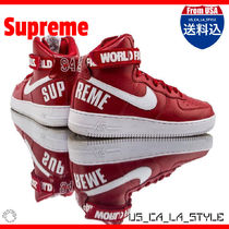 ★Supreme x Air Force 1 High SP 'Red'★