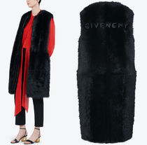 G524 LAMB FUR SLEEVELESS COAT