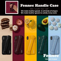 【Fennec フェネック】Leather iPhone Handle Case スマホケース