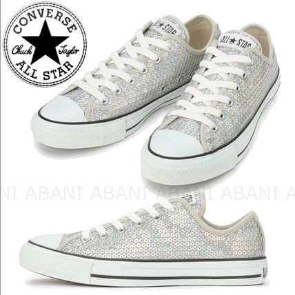 国内発☆CONVERSE★ALL STAR ALL STAR SPANGLE OX☆スパンコール