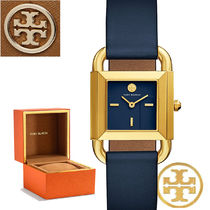 特別価格! Tory Burch PHIPPS GOLD/NAVY TBW7204