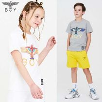 BOYLONDON【ボーイロンドン】Kid's multi color logo Tshirt 3色