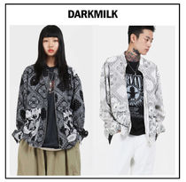 韓国ブランド[DARKMILK]MIX BANDANA ZIP-up 2カラー