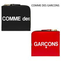 COMME DES GARCONS ロゴプリント コインケース