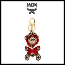 NEW【MCM】BEAR ANIMAL CHARM_MYZ6AXA12IG★正規品