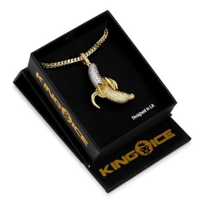 King Ice ネックレス・チョーカー 送料税込【King Ice】Banana Emoji ネックレス 国内発送(5)