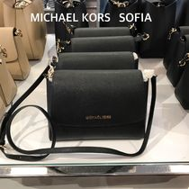 新作【Michael Kors】SOFIA SM EW SATCHEL ★2wayレザーバッグ