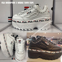 FILA★DISRUPTOR 2 WEDGE TAPEY TAPE★ロゴ★厚底★2色