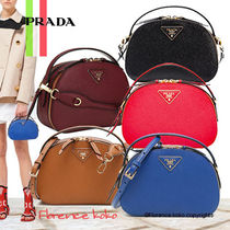 関税込国内発送 Prada Odette Saffiano Leather Bag 1BH123 NZV