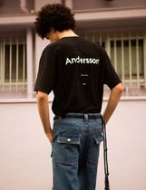 ★ANDERSSON BELL★19SS★ユニセックスシグニチャーエンブレムT