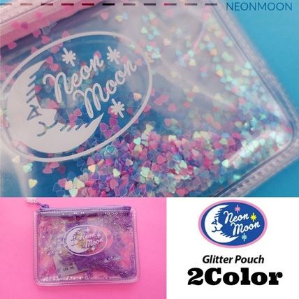 neon moon★韓国★GLITTER POUCH Mermaid★グリッターポーチ