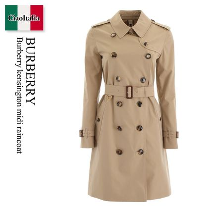 Burberry トレンチコート Burberry kensington midi raincoat