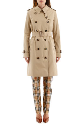 Burberry トレンチコート Burberry kensington midi raincoat(3)