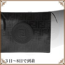 関税込◆Fendi Ff Logo All-over Clutch