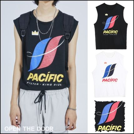 OPEN THE DOOR★韓国★男女兼用PACIFIC sleeveless(2 color)
