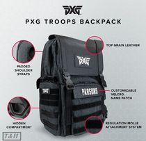 日本未入荷【PXG】収納力抜群&Heavy-DutyなTROOPS BACKPACK