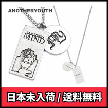 【ANOTHERYOUTH】2 pendant necklace