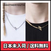 【ANOTHERYOUTH】mix chain necklace