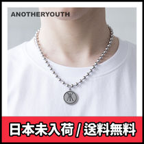 【ANOTHERYOUTH】a pendant necklace
