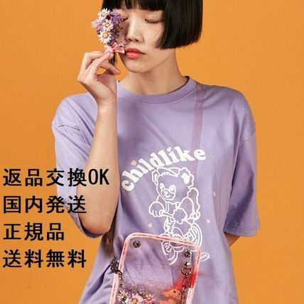 A PIECE OF CAKE Tシャツ・カットソー 【返品交換可・送料無料・正規品】Bicycle Bear 1/2 T-shirts