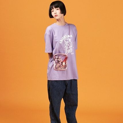A PIECE OF CAKE Tシャツ・カットソー 【返品交換可・送料無料・正規品】Bicycle Bear 1/2 T-shirts(2)