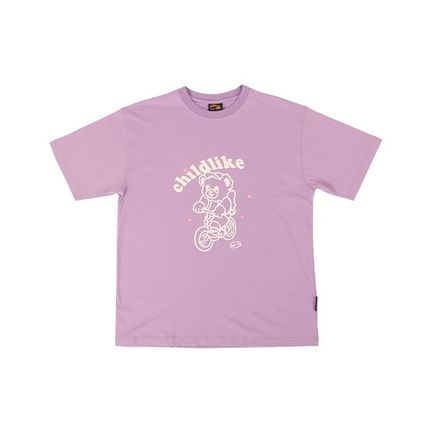 A PIECE OF CAKE Tシャツ・カットソー 【返品交換可・送料無料・正規品】Bicycle Bear 1/2 T-shirts(3)
