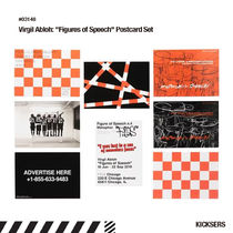"MCA限定話題!Virgil Abloh ""Figures of Speech"" Postcard Set 8"