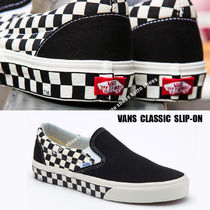 VANS★CLASSIC SLIP-ON SIDEWALL CHECK★チェック柄★兼用