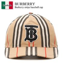 Burberry stripe baseball cap