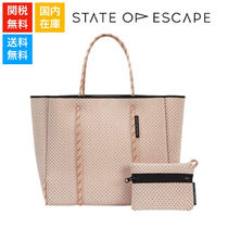 State of Escape ネオプレン フライグソロ トートバッグ Blush