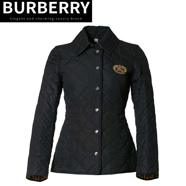 Burberry(バーバリー)Embroidery diamond quilted jacket (Burberry/ジャケット) 45585460