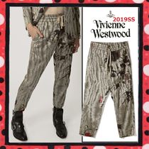 19SS★国内発送 Vivienne Westwood CROPPED GEORGEパンツ 中国柄