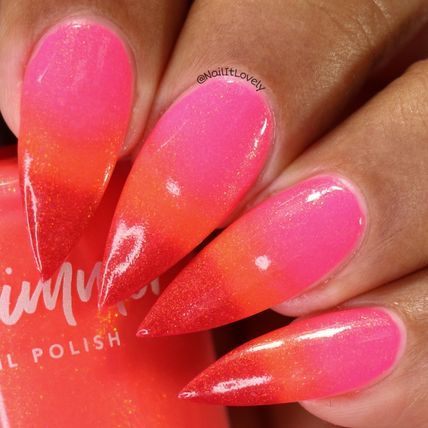 KBShimmer マニキュア KBShimmer☆色が変わるネイル(Just Glow With It)(5)