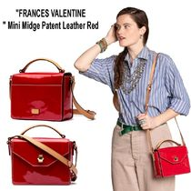 "ビッグセール""Frances Valentine""Mini Midge Patent Leather Red"