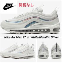 新色【NIKE】Air Max 97 ☆Summit White/Metallic Silver