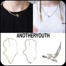 ANOTHERYOUTH(アナザーユース) ネックレス・チョーカー [ ANOTHERYOUTH ] ★韓国大人気★ Mix Chain Necklace