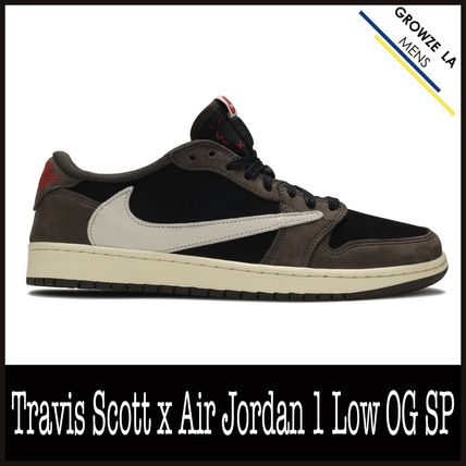 ★【NIKE】US13 31cm Travis Scott x Air Jordan 1 Low OG SP