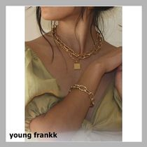 young frankk(ヤンフランク) ネックレス・ペンダント 話題!young frankk☆SQUARE CHAINネックレス☆税・送込