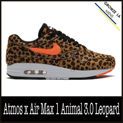 ★【NIKE】追跡発 ナイキ Atmos x Air Max 1 Animal 3.0 Leopard