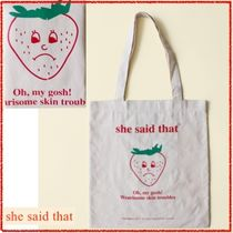 韓国発【she said that】Strawberry Bag 追跡送料込