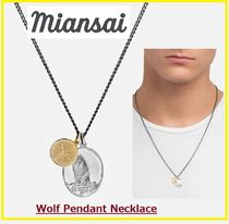 Wolf Pendant Necklace☆MIANSAI