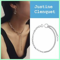 Justine Clenquet*ネックレス チョーカー チェーン パラジウム