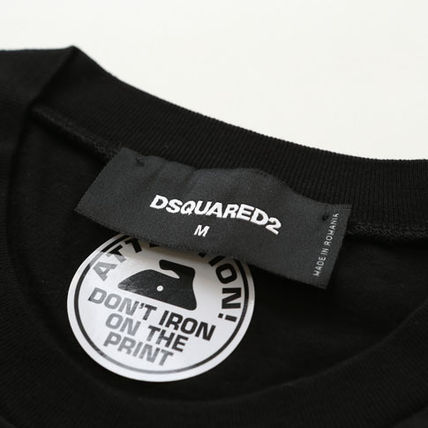 D SQUARED2 Tシャツ・カットソー DSQUARED2 ディースクエアード アーチロゴ Tシャツ s74gd0563(4)