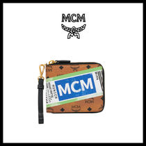 【MCM】VISETOS FLIGHT PRINT ZIP AROUND_MZS9SVI95★正規品