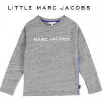 Little Marc Jacobs・ロゴ・ロングTシャツ・グレー(2-12Y)2019AW