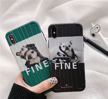 「northern euiope」iPhoneケース フレンチブルドッグ I'm Fine