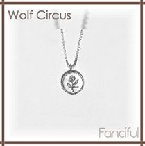 Wolf Circus(ウルフサーカス) ネックレス・チョーカー 【Wolf Circus】ボックスチェーンローズネックレスRose Necklace
